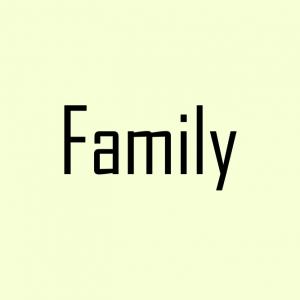 Family blogging